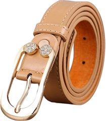 cintura sottile decorativa sottile decorativa del cinturino in pelle donna