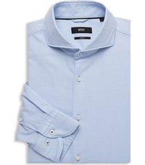 boss hugo boss men's jemerson slim-fit dress shirt - blue - size 16.5