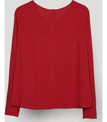 blusa amatista rojo canadienne