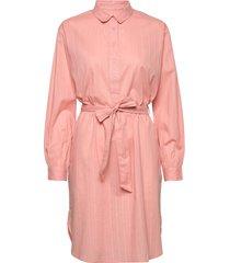 ameline shirtdress jurk knielengte roze moshi moshi mind