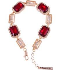 t tahari holiday sparkle line bracelet
