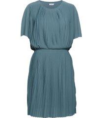 pleated dress korte jurk blauw filippa k