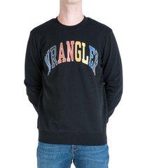 sweater wrangler sweatshirt logo