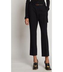 proenza schouler tuxedo suiting belted pants black 8