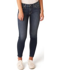 silver jeans co. elyse curvy-fit skinny jeans