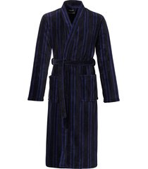 ten cate badjas met shawlkraag blauw