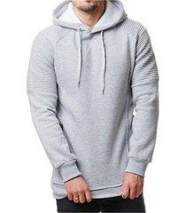 sudaderas con capucha hombres 2019 sudadera con capucha de color-gris