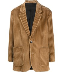 ami paris two-button short coat - neutrals