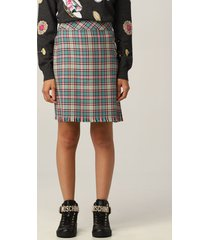 boutique moschino skirt moschino boutique skirt in tartan wool