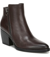 naturalizer freya leather booties women's shoes