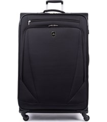 "atlantic infinity lite 4 33"" expandable spinner suitcase"