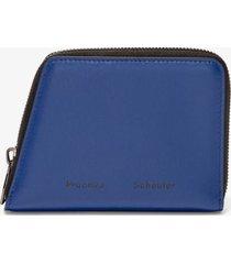 proenza schouler trapeze zip wallet blueprint one size