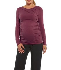 stowaway collection sunburst maternity top