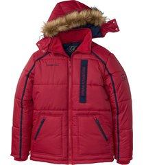 giacca trapuntata con cappuccio (rosso) - bpc selection