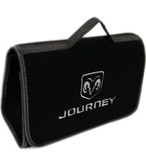 maletín kit de carretera hybrid dodge journey bordado gris plata
