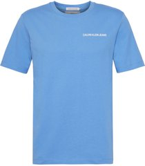 american uniform authentic t-shirt azul calvin klein
