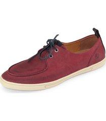 sapatãªnis probs7 vintage bordã´ - vermelho - masculino - couro legãtimo - dafiti