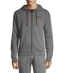 basic full-zip hoodie
