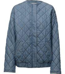 anouk jacket kviltad jacka blå twist & tango