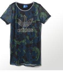 new adidas originals hawaii mesh athletic floral dress skirt summer tees s20004