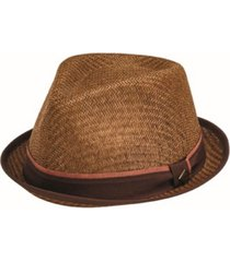 san diego hat men's porkpie with stripe grosgrain