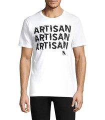 prps men's artisan logo tee - white - size xxl