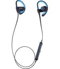 audifonos bluetooth inalámbricos il98bl para correr y deportes - azul