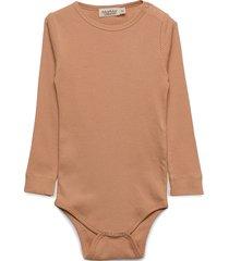 plain body ls bodies long-sleeved brun marmar cph