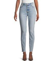 current/elliott women's high-rise original fit jeans - blue - size 24 (0)