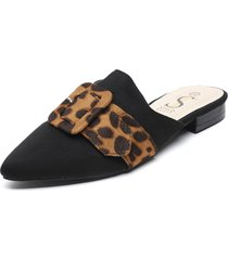 babucha negro stylo shoes