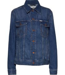 authentic jacket jeansjacka denimjacka blå wrangler