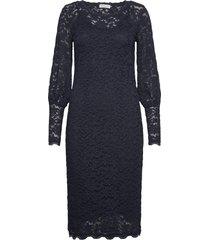dress ls dresses lace dresses blå rosemunde