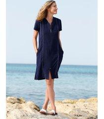 strandklänning maritim marinblå/vit