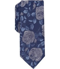 bar iii men's louden floral slim tie, created for macy's