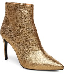 booties 3360 shoes boots ankle boots ankle boot - heel guld billi bi