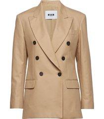 jacket blazer kavaj beige msgm