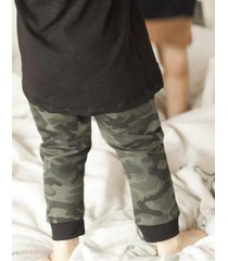 spodnie rurki moro