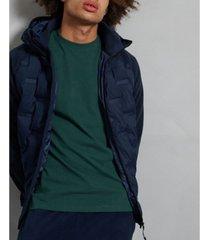 superdry men's sonic city hybrid zip through jacket