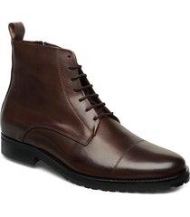 nano lace up boot snörade stövlar brun royal republiq