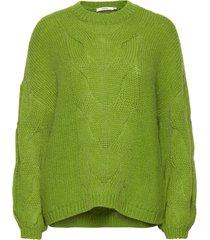 anuragz pullover ma 2020 gebreide trui groen gestuz