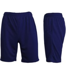 galaxy by harvic men's moisture wicking performance basic mesh shorts