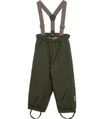 wilas suspenders pants, k outerwear snow/ski clothing snow/ski pants grön mini a ture