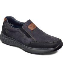 b7654-02 loafers låga skor svart rieker