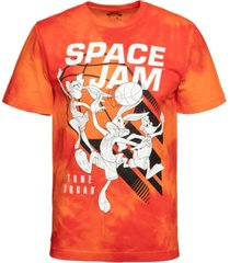 men's space jam slam dunk all over print graphic t-shirt