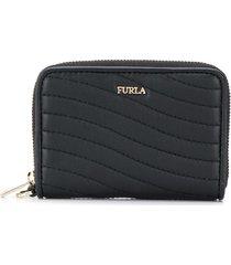furla mini swing purse - black