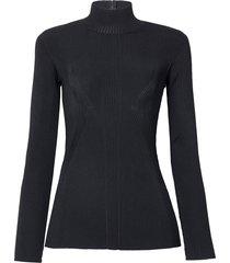 blusa le lis blanc hanna tricot preto feminina (black, gg)