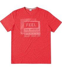 camiseta tradicional malha mouline wee! vermelho - p