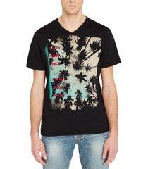 buffalo david bitton men's tree graphic t-shirt