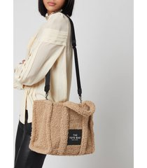 marc jacobs women's the teddy tote bag - beige