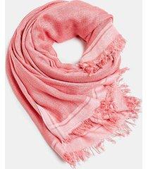 pañuelo a rayas rosado esprit